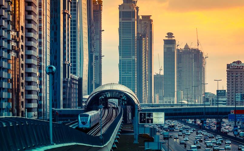 trenes y megaciudades